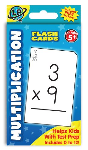FLASHCARD MULTIPLICATION 55 PC