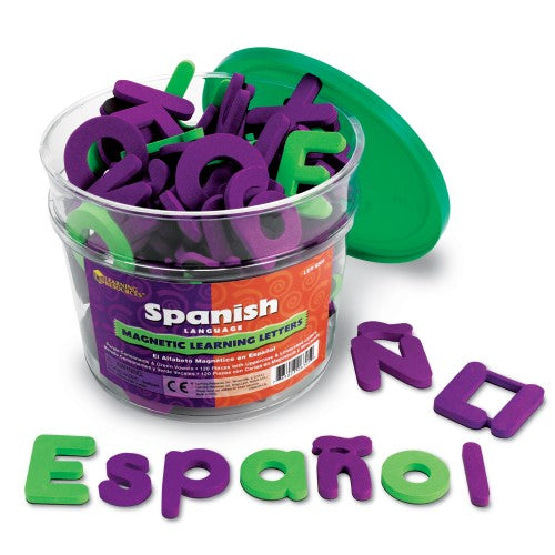 SPANISH MAGNETIC SFT FOAM LEARNING LETTERS
