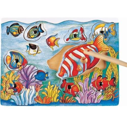 FISH MAGNETIC FISHING PUZZLES