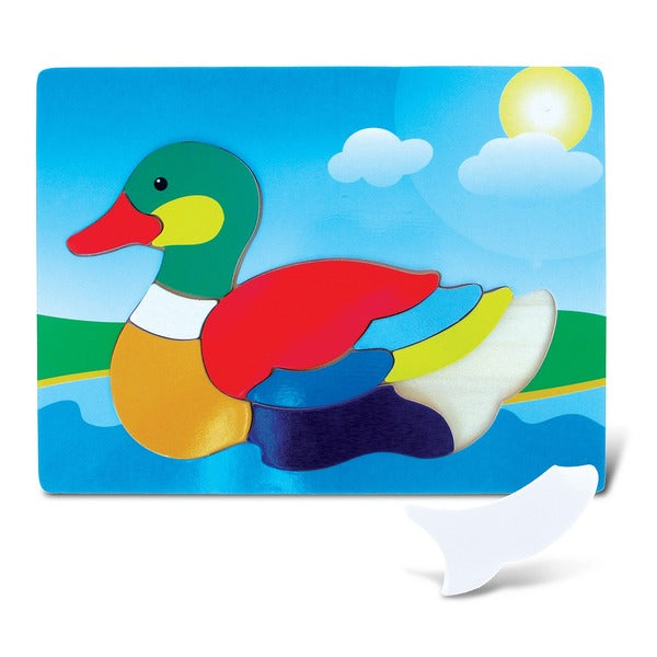DUCK RAISED PUZZLES