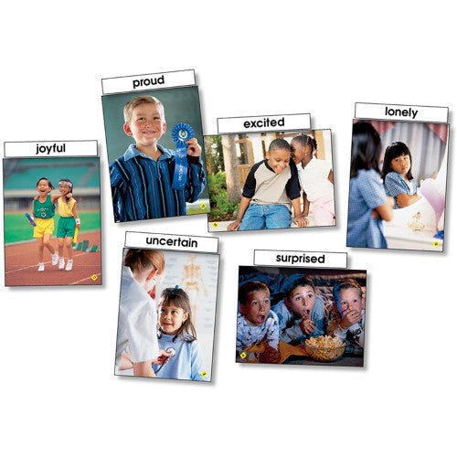 EMOTIONS LANGUAGE CARDS 26 PC
