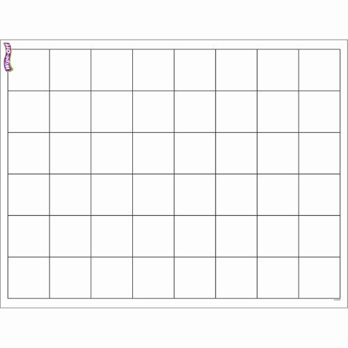 CHART GRAPHING GRID WIPE-OFF