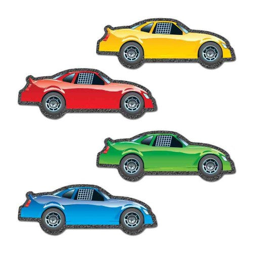 RACE CARS CUT-OUTS