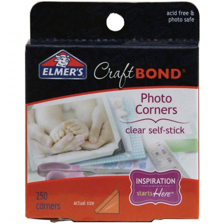 CRAFTBOND PHOTO CORNERS CLEAR