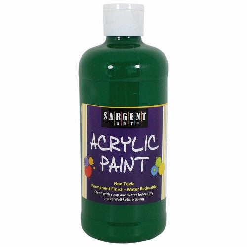 ACRYLIC PAINT GREEN 16 OZ