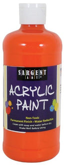 ACRYLIC PAINT ORANGE 16 OZ