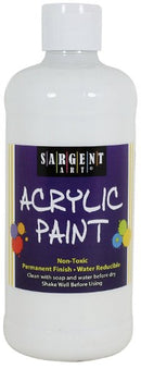 ACRYLIC PAINT WHITE 16 OZ