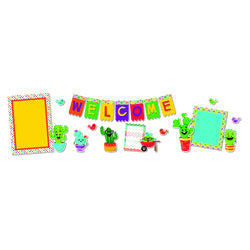 A SHARP BUNCH WELCOME BULLETIN BOARD 21PCS