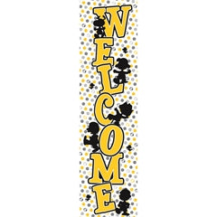 "PEANUTS TOUCH OF CLASS WELCOME BANNER 45"" X 12"""