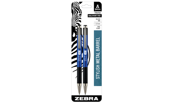 301A RETRACTABLE BALLPOINT .7MM BLUE