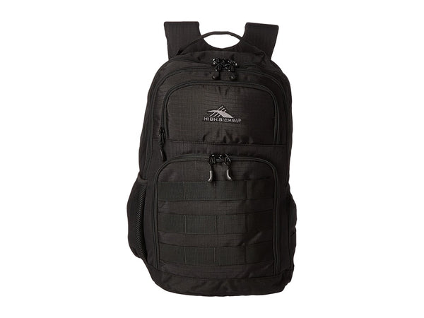 HIGH SIERRA ROWNAN BACKPACK BLACK