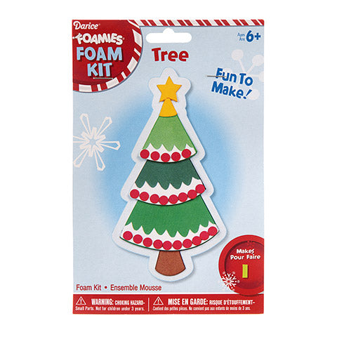 FOAM CHRISMAS TREE KIT