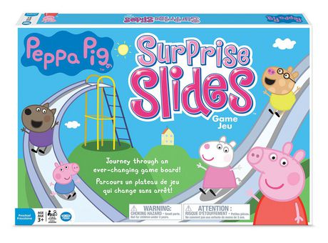 PEPPA PIG SURPRISE SLIDES
