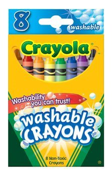 CRAYONS 8 COLORS WASHABLE
