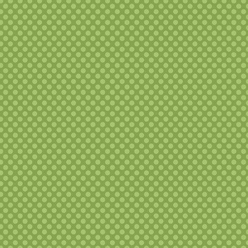 12X12 CARDSTOCK DOTS GREEN