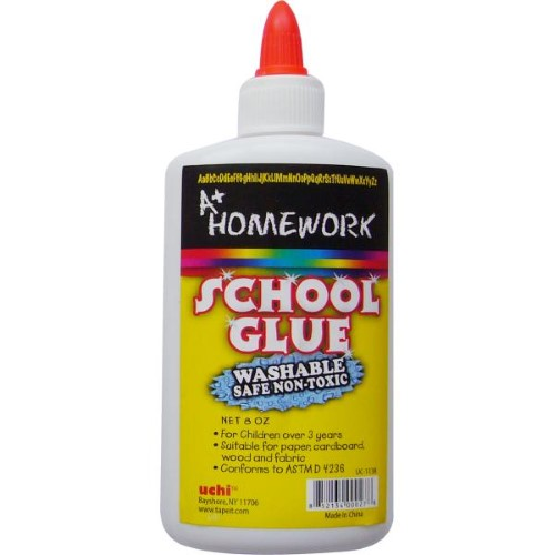 WHITE SCHOOL GLUE 8 OZ