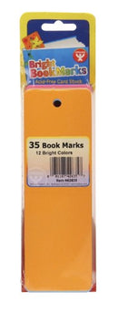 BOOKMARKS BRIGHTS COLORS 7 COLORS 35 PC