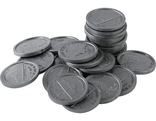 PLAY MONEY: NICKELS 100 PC