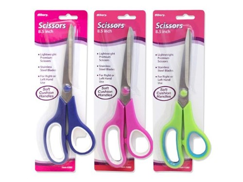 SOFT CUSHION PREMIUM SCISSORS 8-1/2""