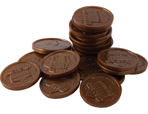 PLAY MONEY: PENNIES 100 PC
