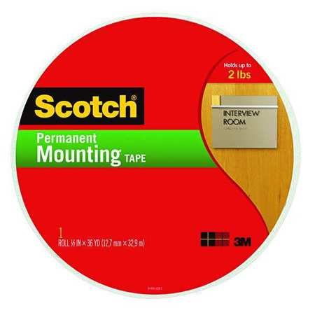 MOUNTING TAPE 3/4 X 38 YD. ROLLO GDE