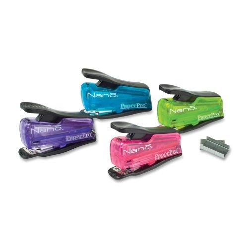 INJOY 12 NANO STAPLER ASSORTED COLORS