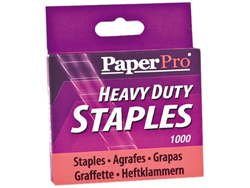 "HALF STRIP STAPLES HEAVY DUTY 1/2"" BOX/1000"