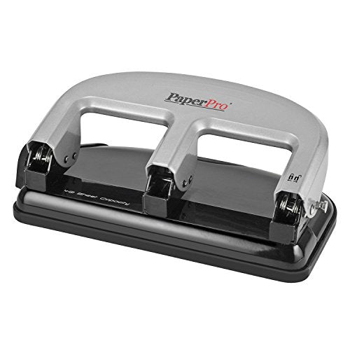 "PAPERPRO HEAVY DUTY3- HOLE 9/32"" PUNCH 40 SHEET"