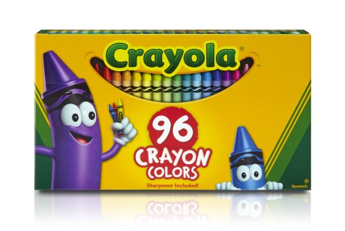 CRAYONS 96 COLORS