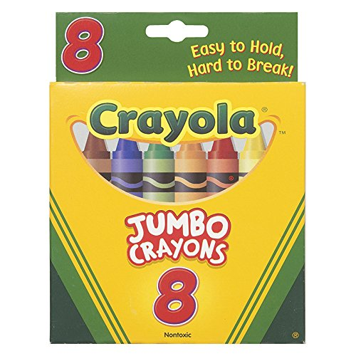 BIG CRAYONS 8-REGULAR COLORS