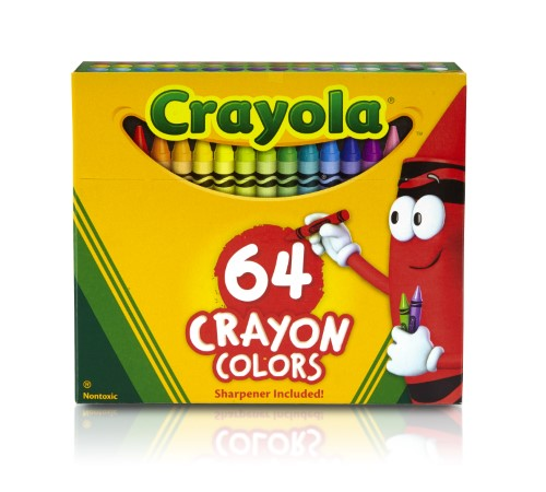 CRAYONS 64 COLORS