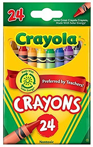 CRAYONS 24 COLOR HANG TAB