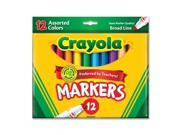 MARKERS BOLD 12-COLORS REGULAR