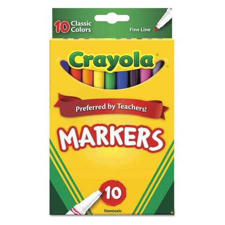 MARKERS FINE 10-COLORS CLASSIC