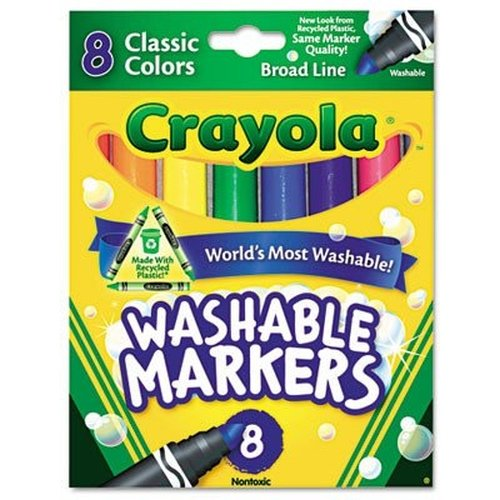 MARKERS BOLD 8-COLORS CLASSIC WASHABLE