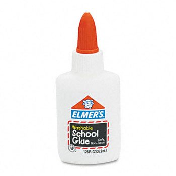 ELMERS WASHABLE SCHOOL GLUE 1-1/4 ONZ