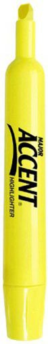 MAJOR ACCENT HIGHLITER YELLOW CJ.12