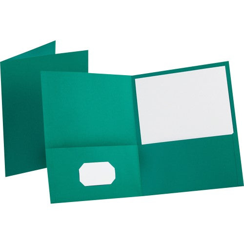 TWIN-POCKET PORTFOLIO PAPER LIGHT BLUE BOX/25