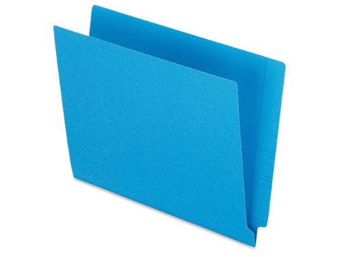 FOLDER LATERAL LETTER BLUE BOX/100