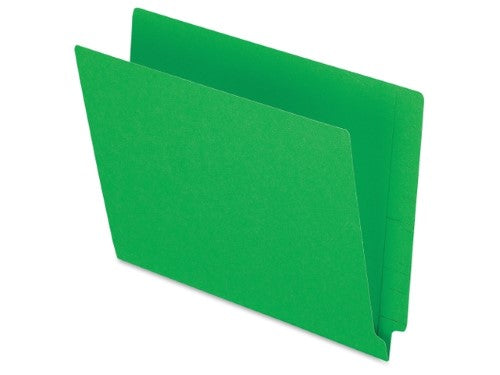 FOLDER LATERAL LETTER GREEN BOX/100
