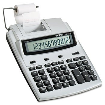 CALCULATOR 12 DIGIT W/ADAPTER