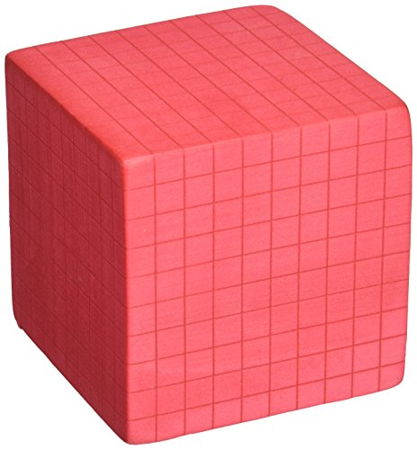 "FOAM BASE TEN: THOUSANDS CUBE 3/8"" UNITS"