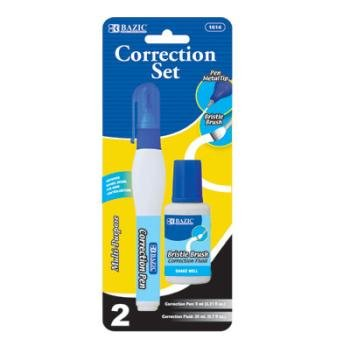 DUO CORRECTOR PEN AND FLUID
