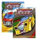 JUMBO CRAZY CARZZ COLORING & ACTIVITY BOOKS