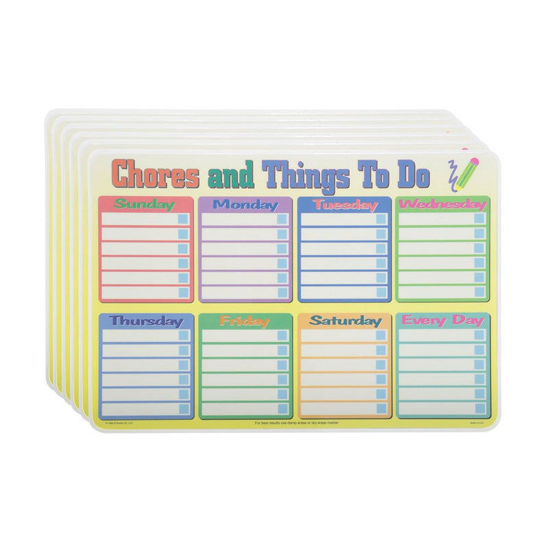 CALENDAR/THINGS TO DO PLACEMAT