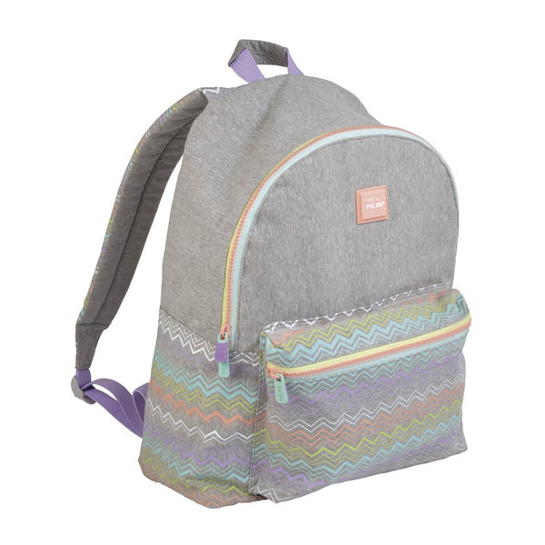 LARGE BACKPACK GREY SUGAR