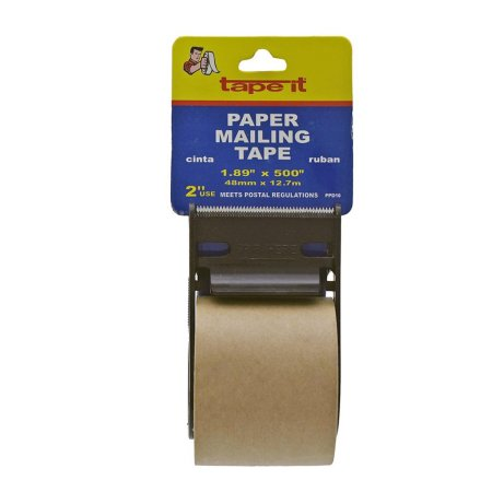 "PAPER SEALING TAPE TAN 2"" X 500"""