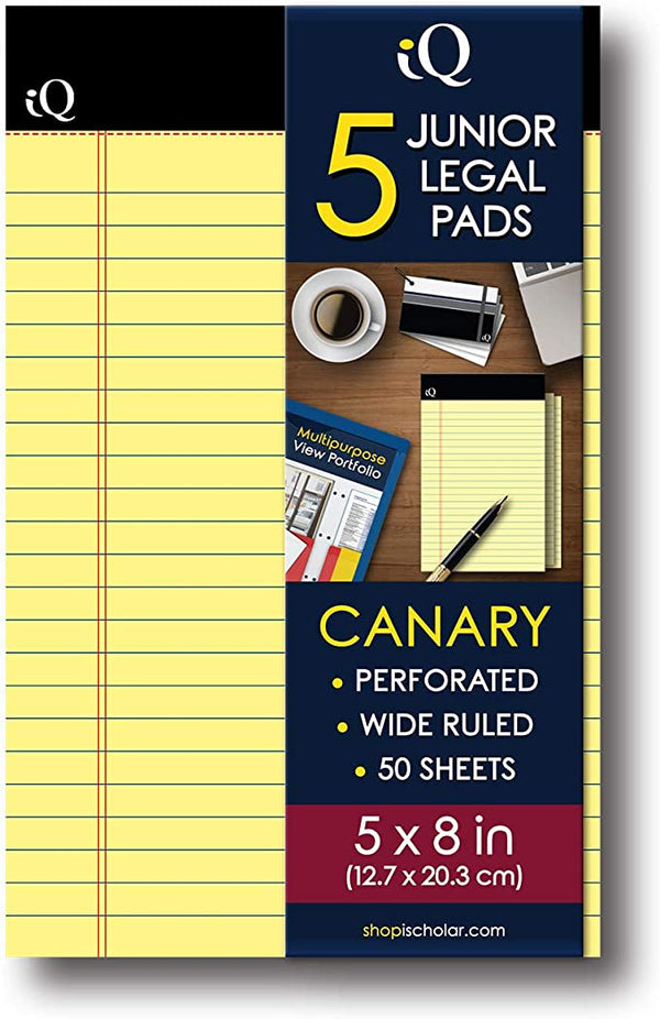 CANARY LEGAL PAD PQ.5