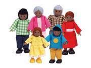 HAPPY FAMILY - AFRICAN AMERICAN 6 PC