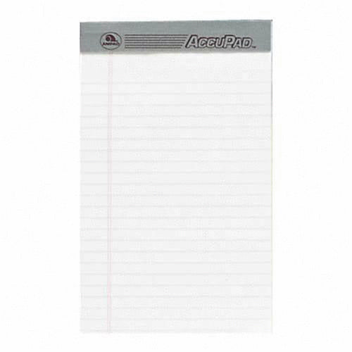 LEGAL PAD WHITE PQT.12
